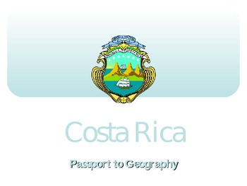 A Trip to Costa Rica (PowerPoint)