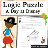 Logic Puzzle: A Trip to Disneyland (for Gifted and Talente