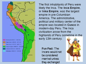 A Trip to Peru (PowerPoint)