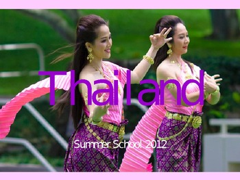 A Trip to Thailand (PowerPoint)