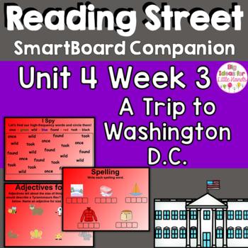 A Trip to Washingron D.C. SmartBoard Companion Common Core 1st Grade