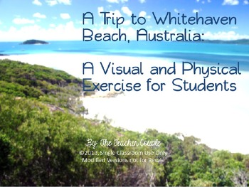 A Trip to Whitehaven Beach, Australia: A Visual and Physical Exercise