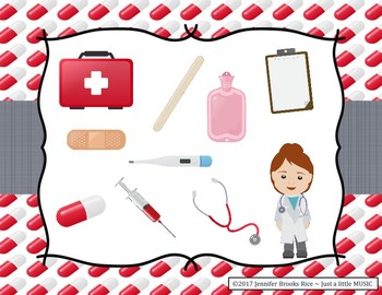 A Trip to the Doctor - Melody Reading Practice Game {re pentatonic}