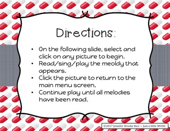 A Trip to the Doctor - Melody Reading Practice Game {sol mi la}