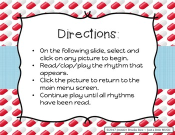 A Trip to the Doctor - Rhythm Reading Practice Game {ta titi rest}