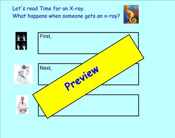 A Trip to the Emergency Room Comprehension SMART notebook for Treasures 2.3