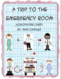 A Trip to the Emergency Room-Homophone Card Activity
