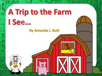 A Trip to the Farm - Interactive; Special Needs; Autism; Centers; Primary Grades