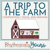 A Trip to the Farm - composition activity