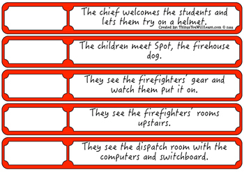A Trip to the Firehouse Sequence and Summarize