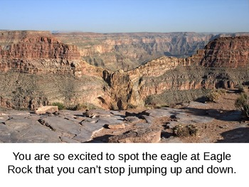 A Trip to the Grand Canyon: A Visual and Physical Exercise for Students