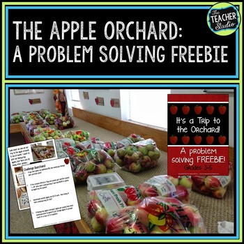 """""""A Trip to the Orchard"""" Problem Solving Freebie--Grades 3-5"""