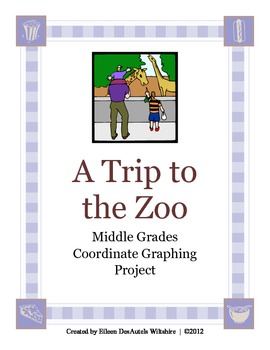 A Trip to the Zoo - Middle Grades Coordinate Graphing Project