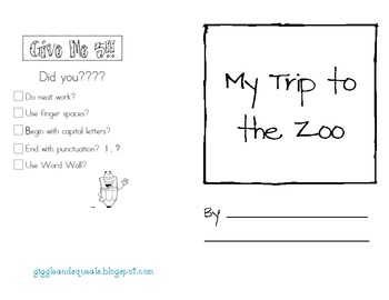 A Trip to the Zoo- Writing Center