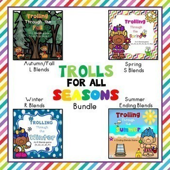 Blends Game Bundle - A Troll For All Seasons