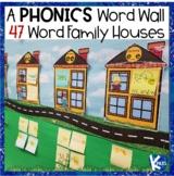 A True Interactive Phonics Word Wall BUNDLE