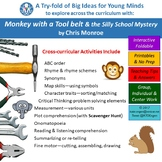 A Try-fold for Cross Curric Fun-Monkey with a Tool belt&th