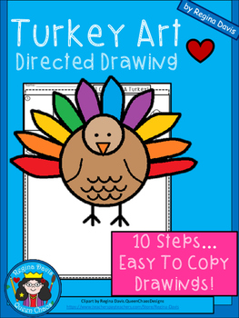 A+ Turkey Art: Directed Drawing