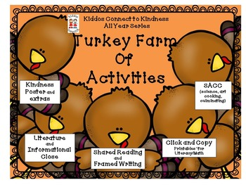 Kindness-Turkey Farm of Activities - Kiddos Connect All-Year to Kindness