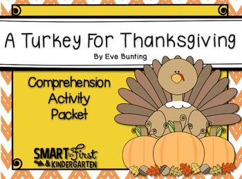 A Turkey For Thanksgiving Comprehension Activity Packet