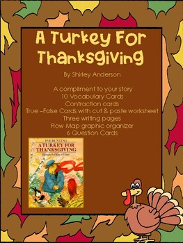 A Turkey For Thanksgiving - Lesson for 2-3 Days