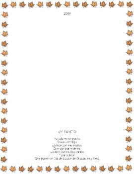 A Turkey Poem/Poema de un pavito