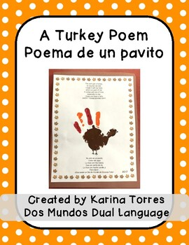 A Turkey Poem/Poema de un pavito
