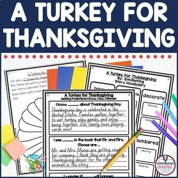 A Turkey for Thanksgiving Teaching Bundle