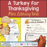 A Turkey for Thanksgiving Mini Literacy Unit Common Core Aligned