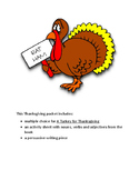 A Turkey for Thanksgiving Packet