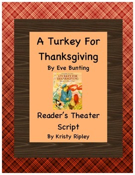 A Turkey for Thanksgiving Reader's Theater Script