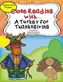 A Turkey for Thanksgiving Reading Street 2nd Grade Close Reading Unit