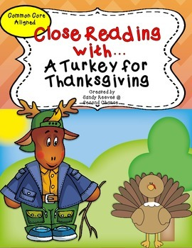 A Turkey for Thanksgiving Reading Street 2nd Grade Close R
