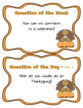 A Turkey for Thanksgiving Resource Pack Reading Street Grade 2