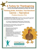 A Turkey for Thanksgiving by Eve Bunting Activities and Test Questions