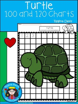 A+ Turtle: Numbers 100 and 120 Chart