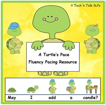 A Turtle's Pace, Fluency Pacing Resource