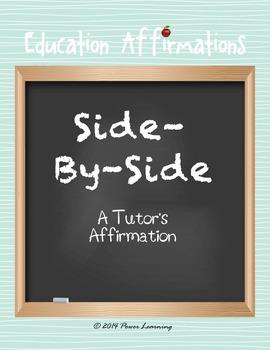 A Tutor's Affirmation (Professional Development)