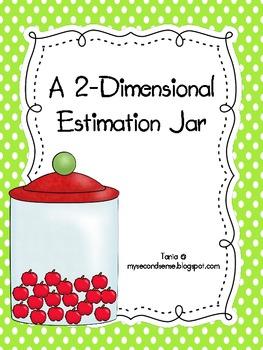 A Two Dimensional Estimation Jar