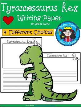 A+ Tyrannosaurus Rex... Writing Paper