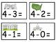 A+  U.S.A. Symbols: Addition & Subtraction Fluency Practice Cards # 0-5