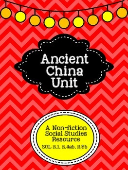 A Unit About Ancient China