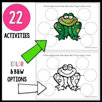 The Frog Prince Activity Pack