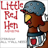 Little Red Hen Activity Pack