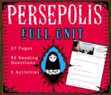 A Unit for Marjane Satrapi's Graphic Novel Persepolis