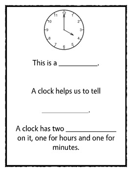 A Unit for Telling Time to the Hour