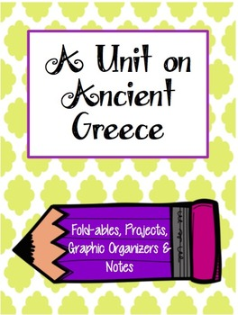 A Unit on Ancient Greece