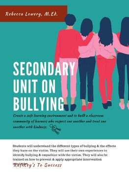 A Unit on Bullying