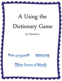A Using the Dictionary Game by KMediaFun