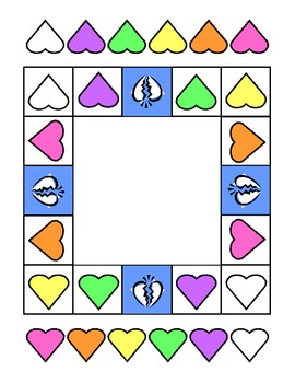 A+ Valentine Candy Board Game - Early Childhood/K